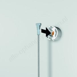 Artiteq Picture Mouse Solo 150cm wit incl alle montagematerialen