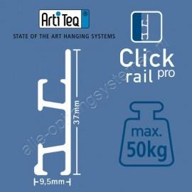 Artiteq eindkap click rail pro