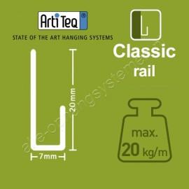 Artiteq schuifveer rvs 3mm - 20kg