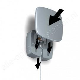 Artiteq Uniq Hanger + Micro Haak + Perlondraad met Twister - 200cm (Set)