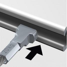 Artiteq Micro Perlondraad met Twister - 1mm (i.c.m. Micro haak)