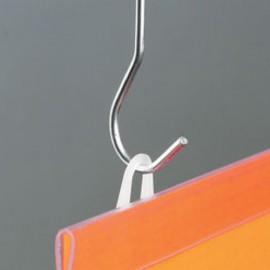 GeckoTeq dubbele Plafond Haak - voor Corona Schermen - verpakt per 25 stuks