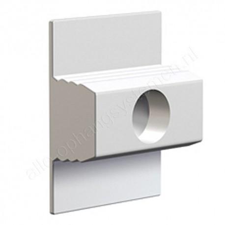 Artiteq click & connect click rail 3 rings voor niet rechte muren