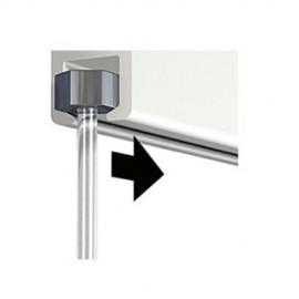 Artiteq perlondraad/koord met glijder 2mm