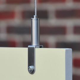GeckoTeq Zelfremmende klem voor panelen tot 10 mm - 15kg