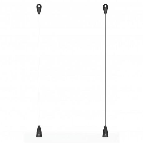 Artiteq Plafondnok Kabelsysteem inc. zwart draad - 10kg