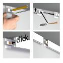 Click Rail Budget Pakket - 3 meter