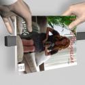 Artiteq Tijdschriften Rail - in 3 lengtes en 2 kleuren