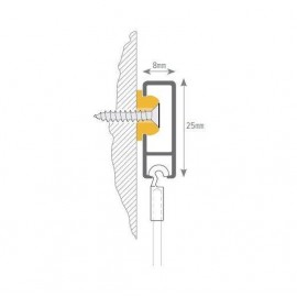 STAS Clip Rail