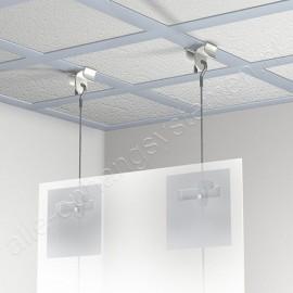 GeckoTeq Plafond Klem in transparant - 5kg