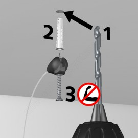 Anti-Corona Covid-19 Spat Scherm ophang set 4