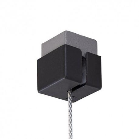 Stas Qubic Hanger (Set) incl. 200cm draad, Eindkap, schroef en plug