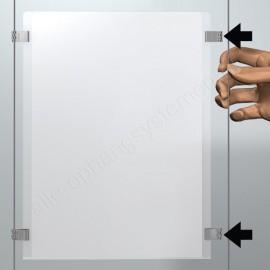 Artiteq display-it e-clip los - aluminium
