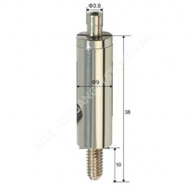 Zelf remmende draad klem met 6,0mm schroefeinde