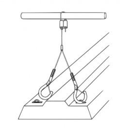 GeckoTeq Zelfremmende Lus Hanger voor 1,5mm draad