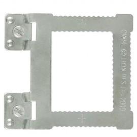 GeckoTeq Inschroef hangers voor aluminium frames - per stuk