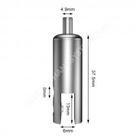 GeckoTeq Zelfremmend Plafondnok Kabelsysteem - 20kg