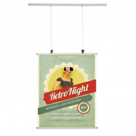 Stas Kunststof Poster strips per 2 stuks - boven & onder
