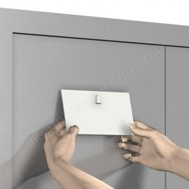 Artiteq magnetische schilderij haken in wit